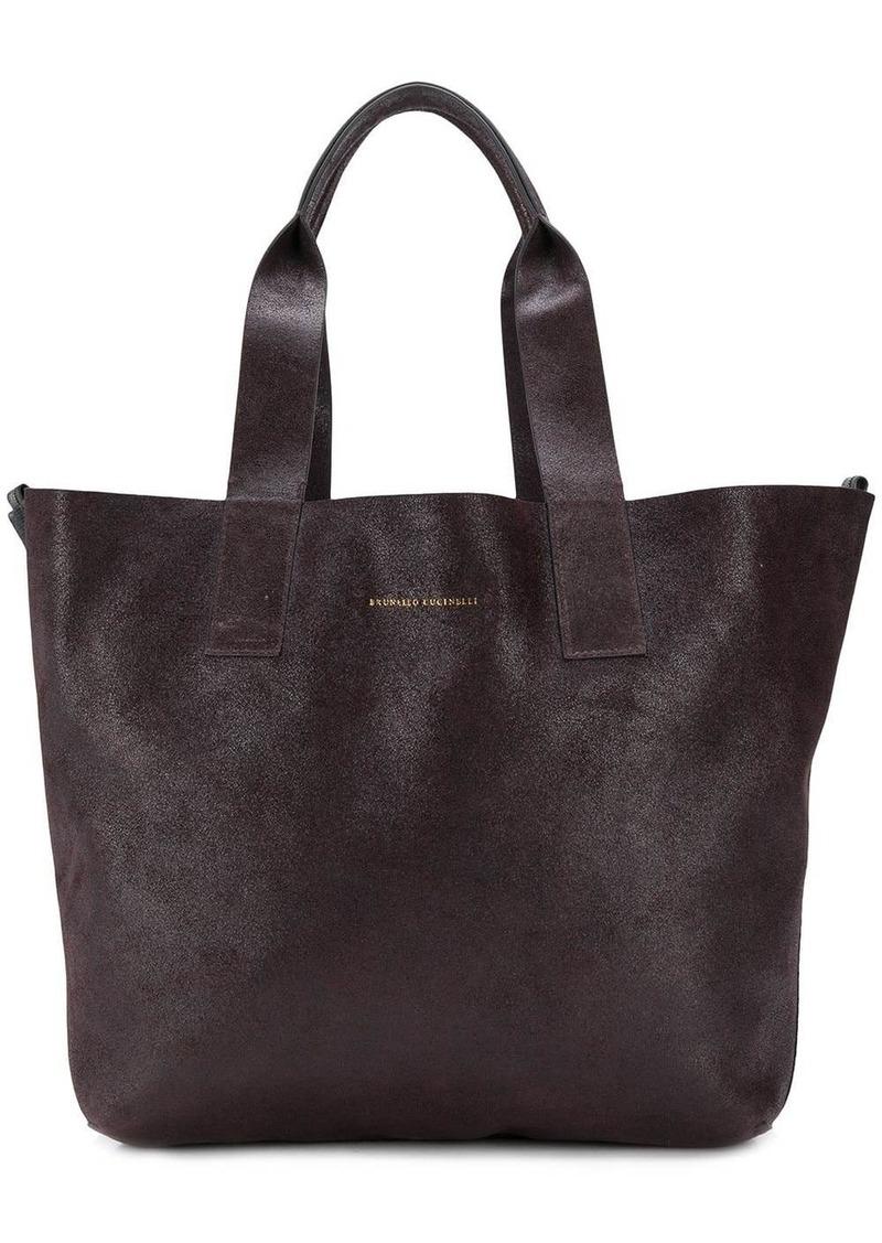 Brunello Cucinelli shopper tote bag