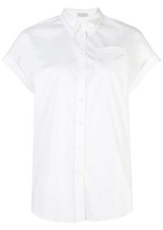 Brunello Cucinelli short-sleeve fitted shirt