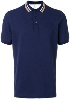 Brunello Cucinelli short-sleeve polo top