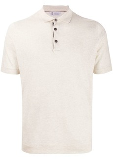 Brunello Cucinelli short sleeved polo shirt