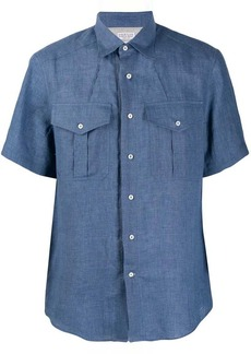 Brunello Cucinelli short sleeved shirt