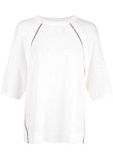 Brunello Cucinelli short sleeved top