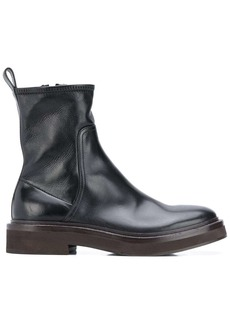Brunello Cucinelli side-zip Chelsea boots
