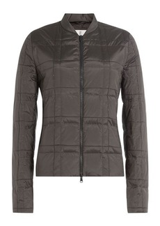 Brunello Cucinelli Silk Down Jacket with Embellishment