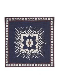 Brunello Cucinelli Silk pocket square