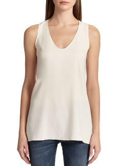 Brunello Cucinelli Silk Tank Top