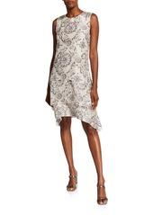 Brunello Cucinelli Silk Tiered Dress