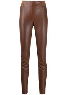 Brunello Cucinelli skinny-fit biker leggings