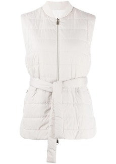 Brunello Cucinelli sleeveless quilted gilet