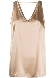 Brunello Cucinelli sleeveless v-neck top