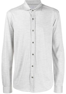 Brunello Cucinelli slim-fit oxford shirt