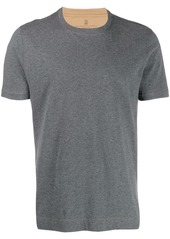 Brunello Cucinelli slim fit plain t-shirt