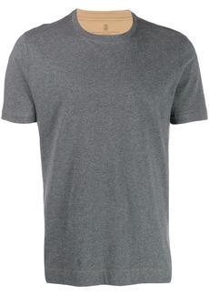 Brunello Cucinelli slim fit plain t-shirt