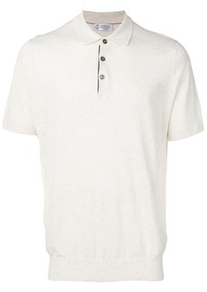 Brunello Cucinelli slim-fit polo shirt