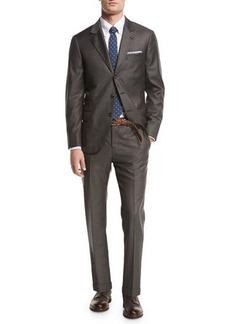 Brunello Cucinelli Solid 3-Button Two-Piece Suit