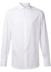 Brunello Cucinelli spread collar shirt