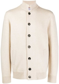 Brunello Cucinelli stand-up collar cardigan