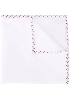 Brunello Cucinelli stitch detail pocket square