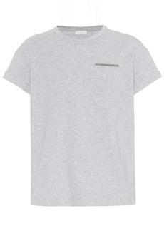 Brunello Cucinelli Stretch-cotton T-shirt