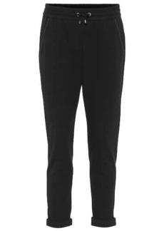 Brunello Cucinelli Stretch-cotton trackpants