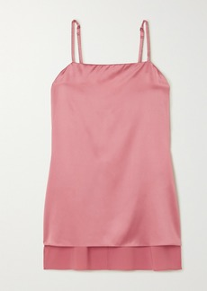 Brunello Cucinelli Stretch-silk Satin Camisole