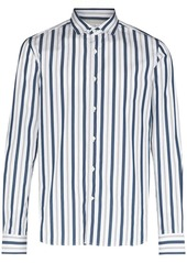 Brunello Cucinelli stripe-pattern long-sleeve shirt
