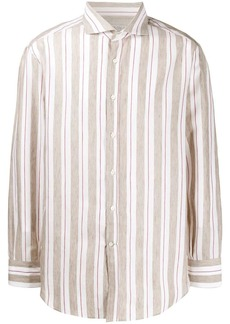 Brunello Cucinelli striped button shirt