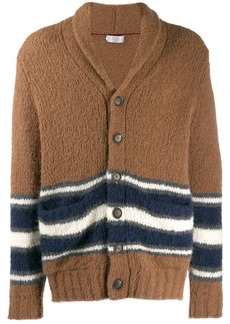 Brunello Cucinelli striped cardigan