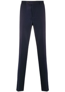 Brunello Cucinelli striped pattern tailored trousers