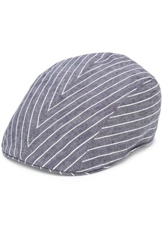 Brunello Cucinelli striped print hat