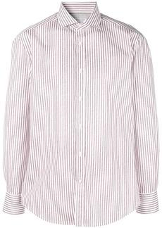 Brunello Cucinelli striped print shirt