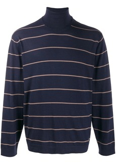 Brunello Cucinelli striped relaxed-fit jumper