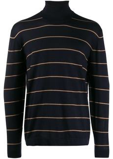 Brunello Cucinelli striped roll-neck jumper