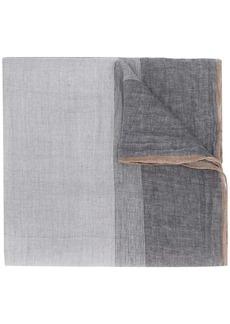 Brunello Cucinelli striped scarf