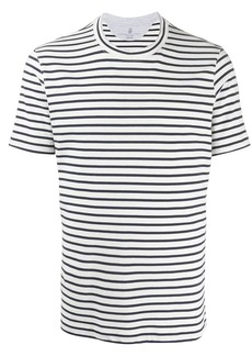 Brunello Cucinelli striped crew neck T-shirt