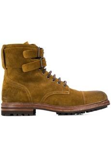 Brunello Cucinelli suede buckle boot