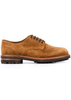 Brunello Cucinelli suede lace-up shoes