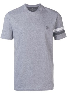 Brunello Cucinelli T-shirt with satin straps