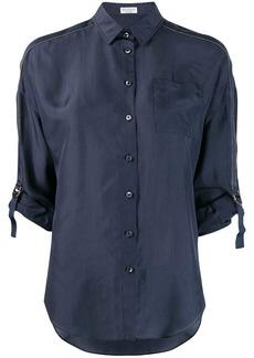 Brunello Cucinelli tailored buckle sleeved shirt