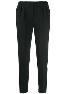 Brunello Cucinelli tapered cropped trousers