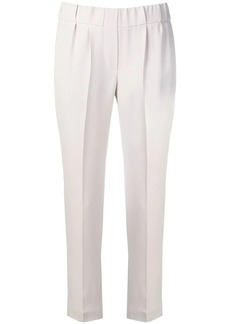 Brunello Cucinelli tapered elasticated trousers