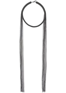 Brunello Cucinelli tassel chain necklace