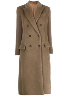 Brunello Cucinelli textural double-breasted coat