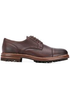 Brunello Cucinelli thick sole derby shoes