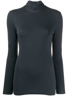Brunello Cucinelli turtle-neck fitted top
