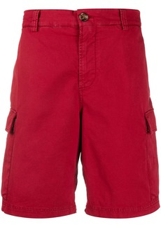 Brunello Cucinelli twill cargo shorts