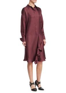 Brunello Cucinelli Twill Silk Dress