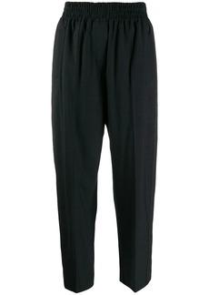 Brunello Cucinelli twill trim trousers