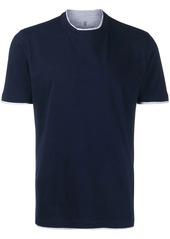 Brunello Cucinelli two tone T-shirt