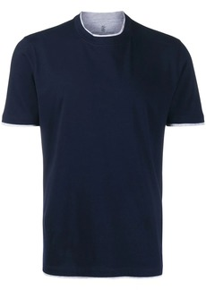Brunello Cucinelli two tone T-shirt